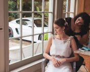 A bridal photoshoot in the beautiful Surrey Hills