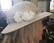 Restyle a favourite hat for a special occasion