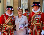 A special outfit for a visit to the Palace
